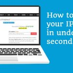 How to Locate spent discovering your IP address.
